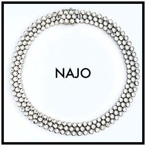 Designer NAJO 925 Sterling Classic Necklace